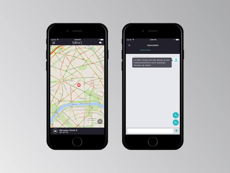 Driver iOS App