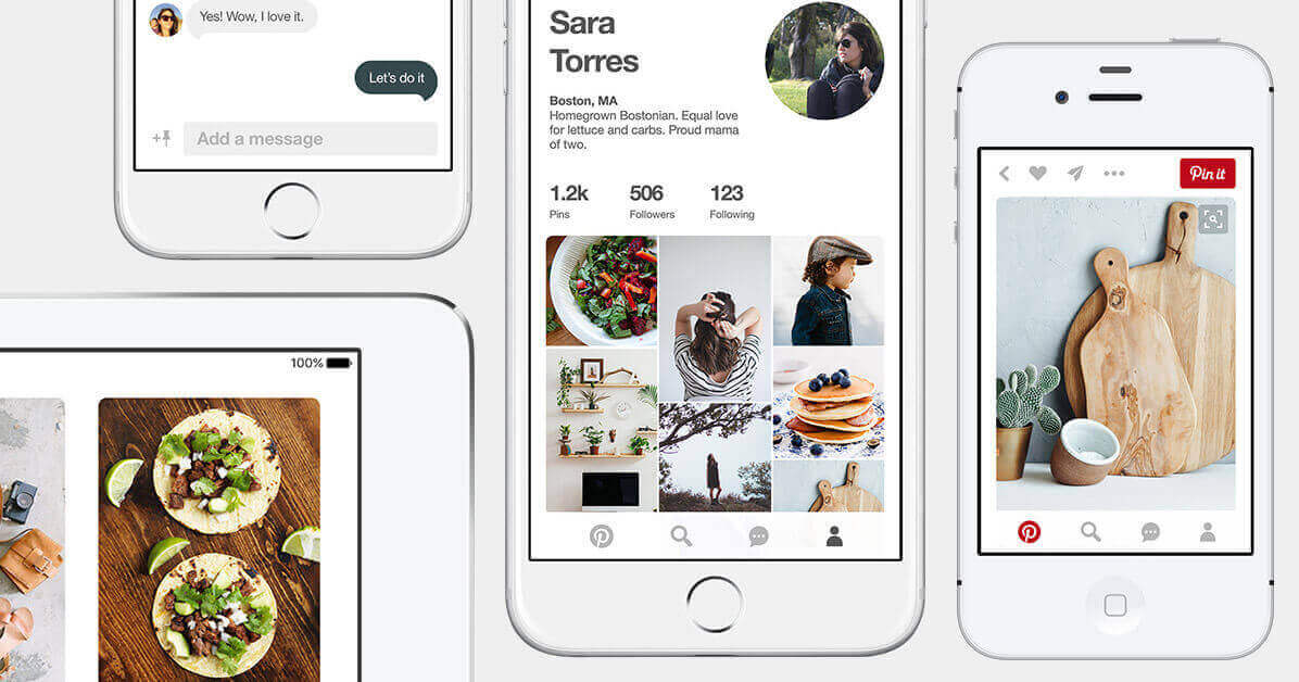 Pinterest collectionView layout