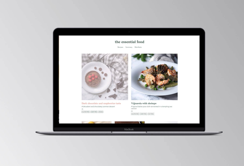 The essential food website