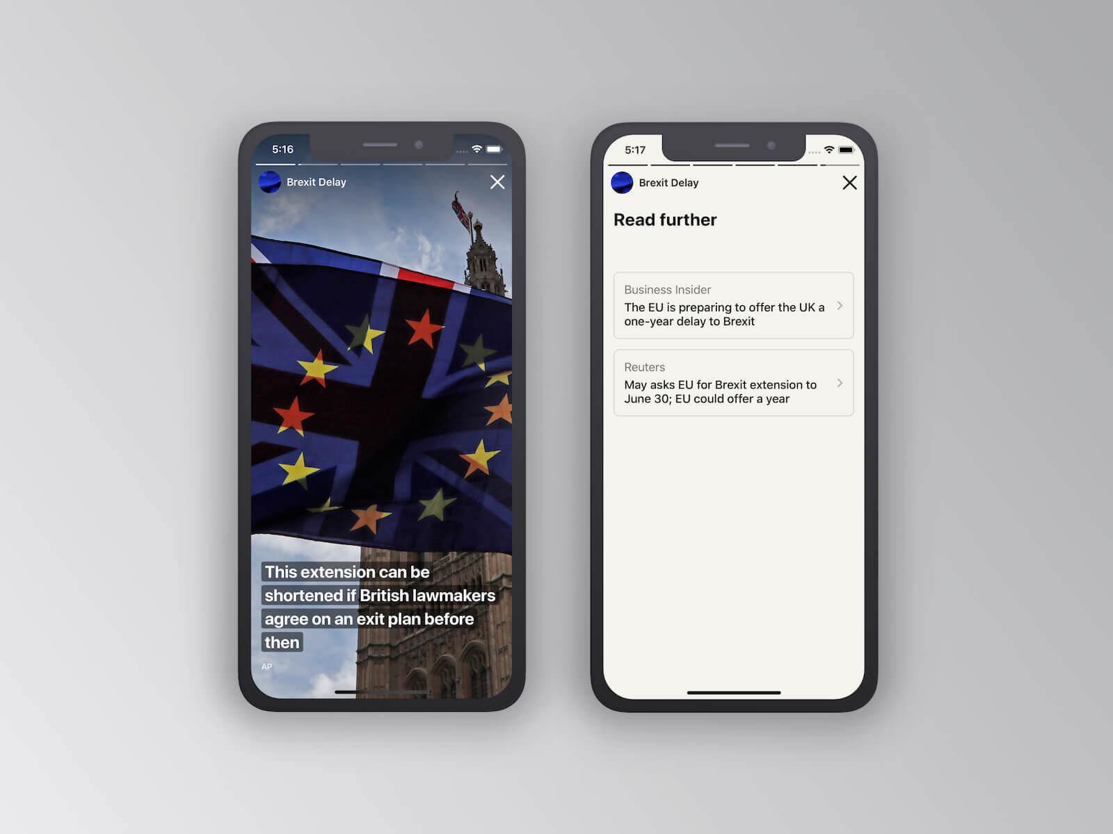 Snacknews iOS App