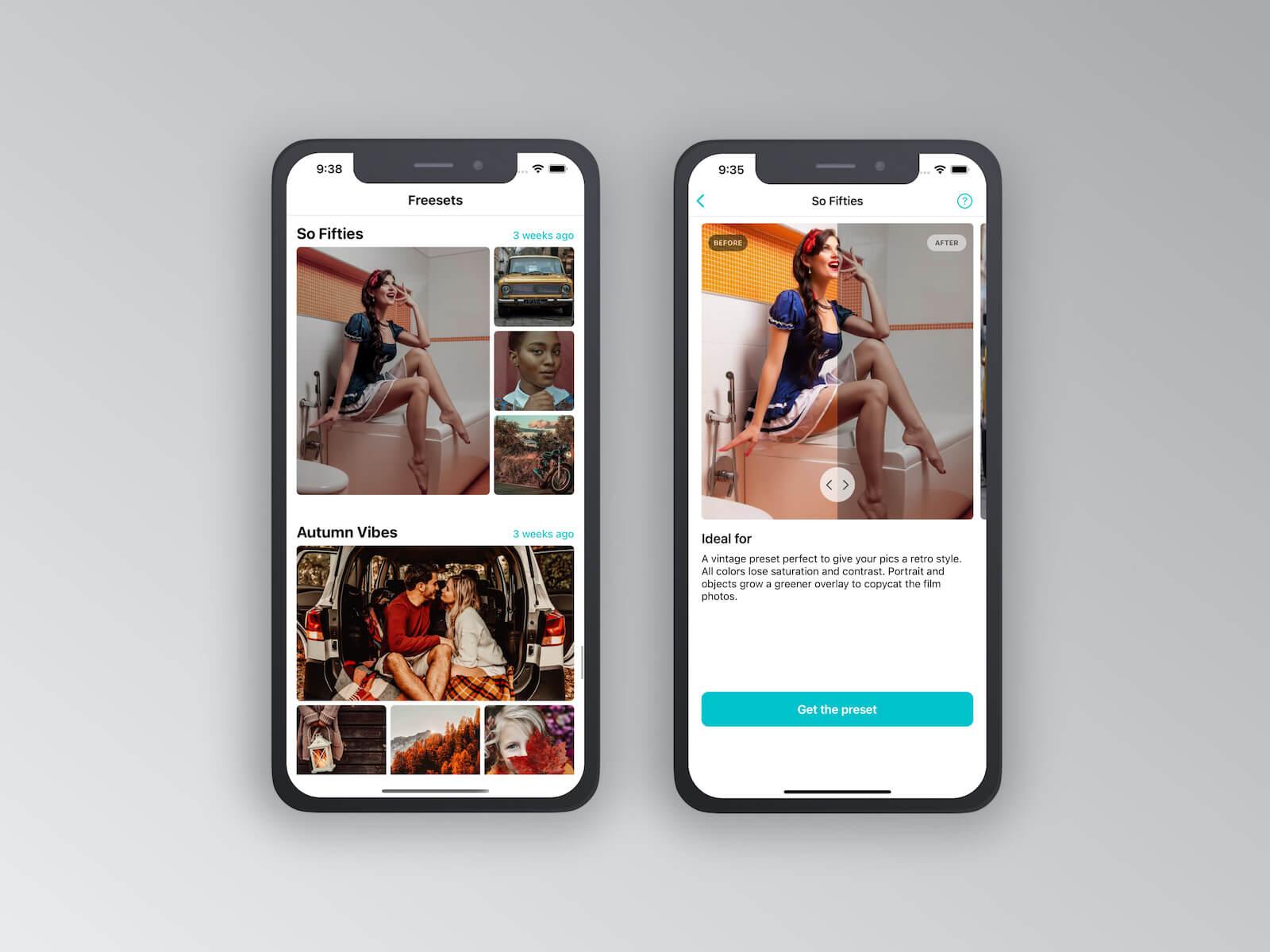 Freeset iOS App